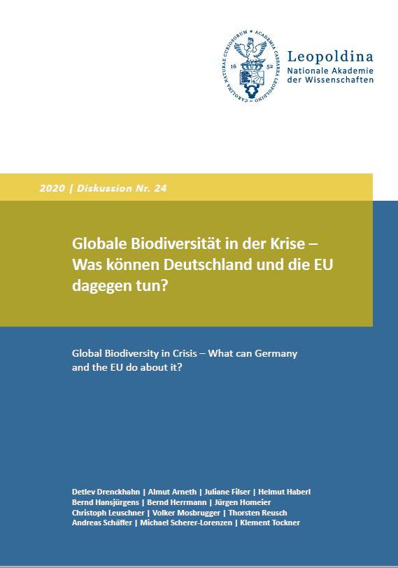 leopoldina diskussionspapier biodiversität 2020